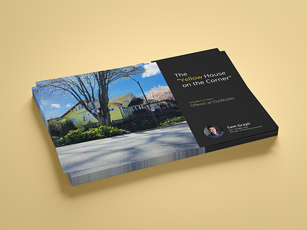Real Estate Branding Listing Flyer Luxury
