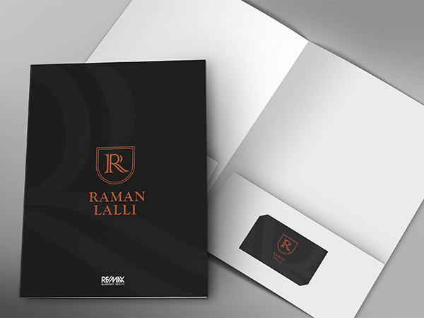 Real Estate Branding Presentation Folders