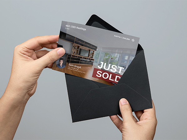 Real Estate Branding Sold Flyer